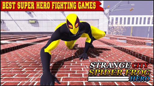 strange city spider frog rope hero: grand vice ops screenshot 2