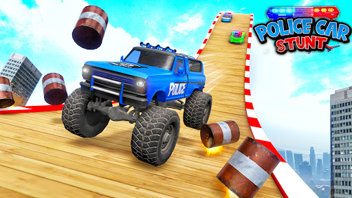 Police Car Stunt Games - Mega Ramps  APK MOD (Astuce) screenshots 3