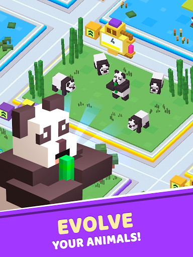 Idle Star Zoo: Universe Animals Merge Tycoon  screenshots 12