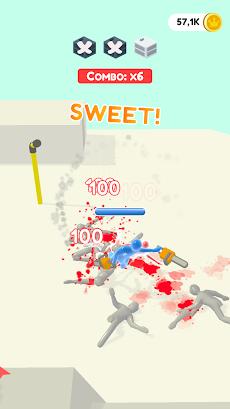 Jelly Fighter: カラーキャンディーとスティックマンゲームのおすすめ画像2