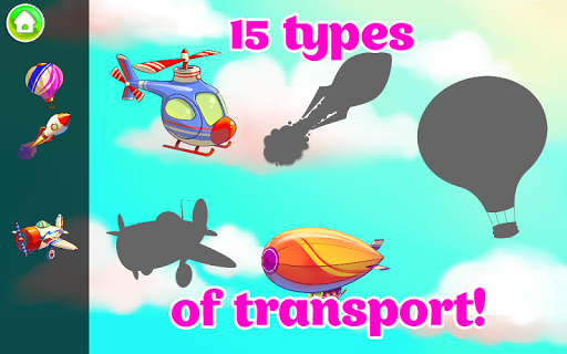 Learning Transport Vehicles for Kids and Toddlers 1.3.6 screenshots 3