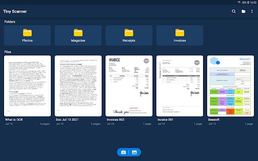 Tiny Scanner - PDF Scanner App android2mod screenshots 21