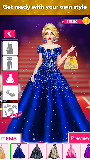 Model Fashion Red Carpet: Dress Up Game For Girls 0.4 screenshots 4