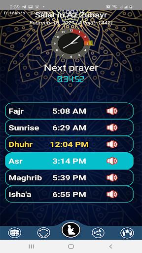 Prayer Timings Muslim Salatuk  Screenshots 1