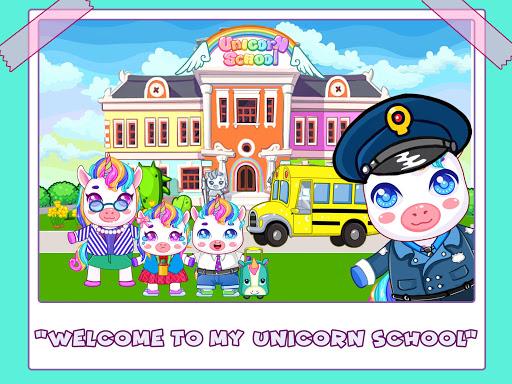 Mini Town: Unicorn School modavailable screenshots 1