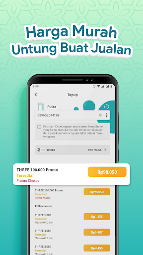 bisatopup terbaru - beli pulsa, paket data, token screenshot 3
