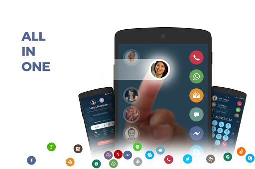 Contacts, Phone Dialer & Caller ID: drupe 3.4.7 Screenshots 1
