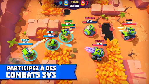 Tanks A Lot! - Realtime Multiplayer Battle Arena APK MOD (Astuce) screenshots 1