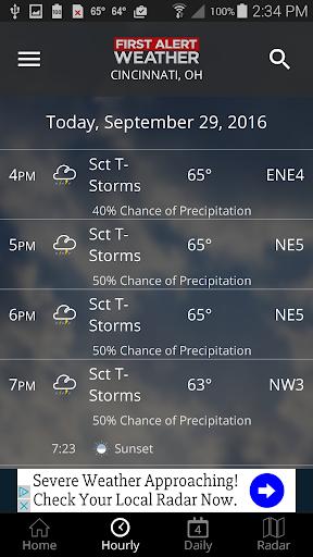 FOX19 First Alert Weather 5.0.1100 Screenshots 4