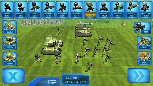 Stickman Tank Battle Simulator apklade screenshots 1