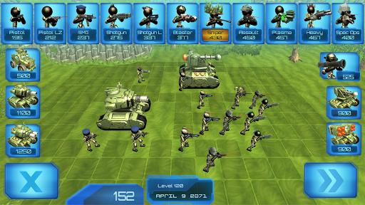 Stickman Tank Battle Simulator 1.10 screenshots 1