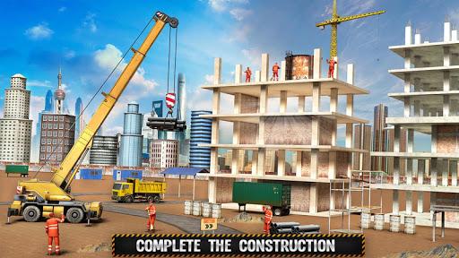 City Building Construction House: Excavator Games  screenshots 2