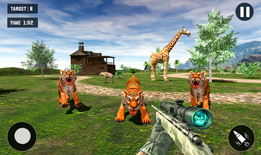 Tiger Hunting game: Zoo Animal Shooting 3D 2020 11 screenshots 1