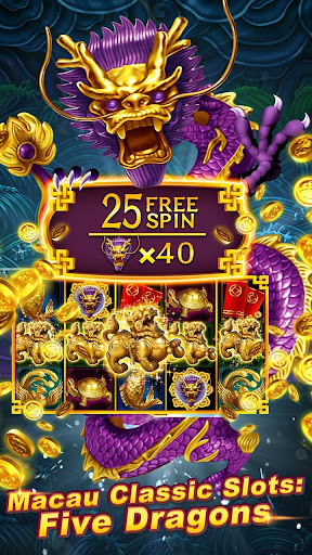 Grand Macau 3: Dafu Casino Mania Slots apkpoly screenshots 4