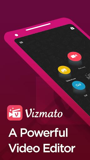 Vizmato – Video Editor & Slideshow maker! screen 0