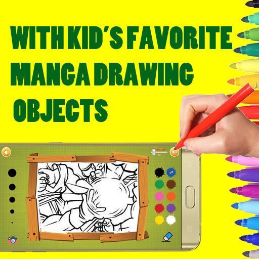 Jeu De Coloriage Manga Pour Android Apk Telecharger