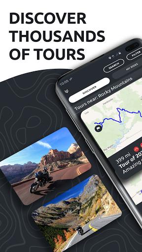 calimoto u2013 Motorcycle Rides & Offline GPS 5.7.1 Screenshots 2
