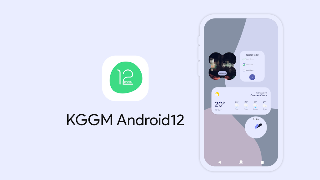 KGGM Android12 for KWGT  poster 2