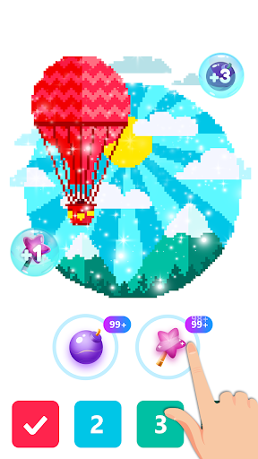 Pix123 - Color by Number, Pixel Art Relaxing Paint 2.4.8 screenshots 5