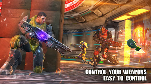 Cyberpunk Shooting: Real Hero Hunters 1.0.1 screenshots 6