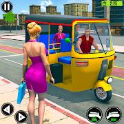 Tuk Tuk Auto Rickshaw Offroad Driving Games 2020