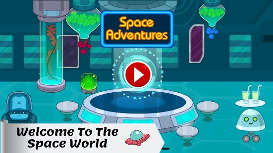 Tizi Town - My Space Adventure Games for Kids 1.1 Screenshots 6