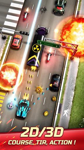 Code Triche Chaos Road: Courses de Combat mod apk screenshots 1