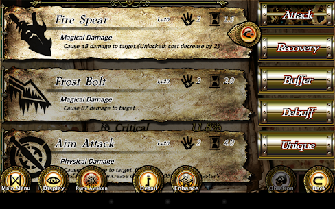 Rune Rebirth MOD APK 1.968 (Unlimited Money/Shard) 7