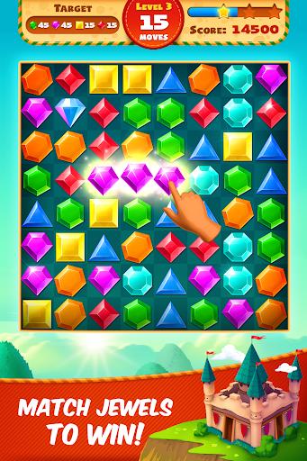 Jewel Empire : Quest & Match 3 Puzzle 3.1.22 Screenshots 1