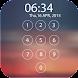 ロック画面のパスワード - Androidアプリ