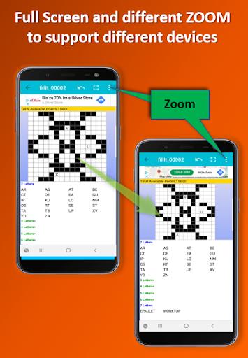 Fill it ins word puzzles - free crosswords screenshots 5