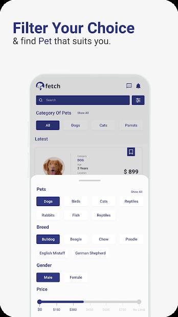Fetch - The World's First local Pet Marketplace! screenshot 4