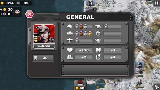 Glory of Generals-WW2 frontline War Strategy Game 1.2.12 Screenshots 9