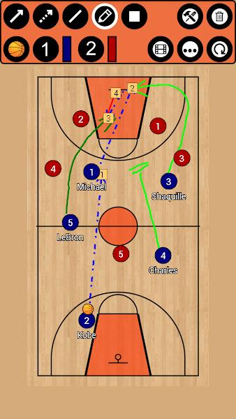Basketball Tactic Board