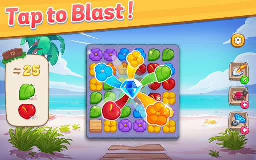 Ohana Island: Blast flowers and build 1.5.9 screenshots 12