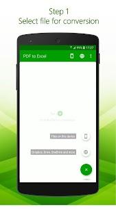 PDF to Excel – PDF File Converter with OCR MOD APK 2