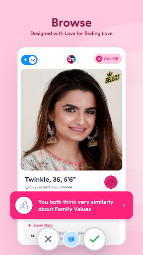 TrulyMadly - Dating app for Singles in India apktram screenshots 1