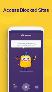 Unlimited Free VPN Monster v1.9.0 MOD APK – Fast Secure VPN Proxy 3