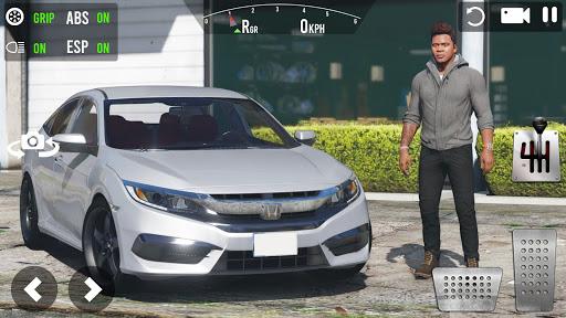 Extreme Civic Car Drive : Offroad Simulator 2021 screenshots 1