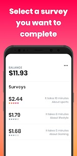 Poll Pay: Make money & free gift cards cash app 5