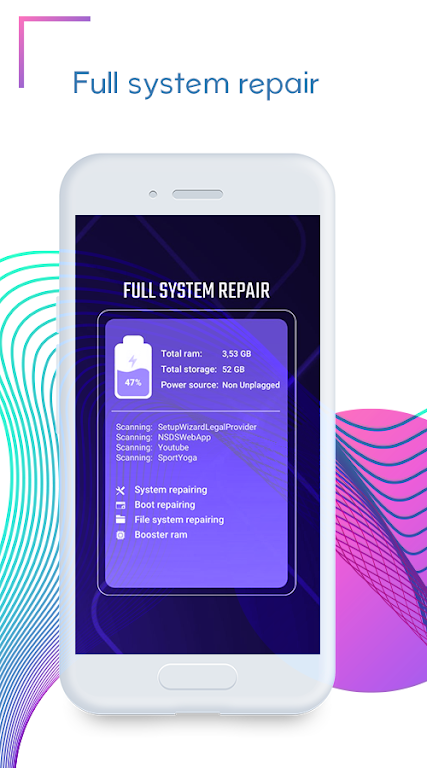 Repair System for Android Operating System Problem  poster 0