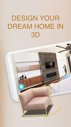 Homestyler:3D Home Decor Tool and Makeoverのおすすめ画像1