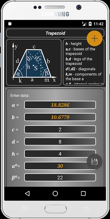 Geometryx: Geometry - Calculator  poster 4