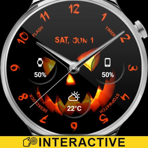 Halloween Watch Face Icon