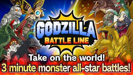 GODZILLA BATTLE LINE 1