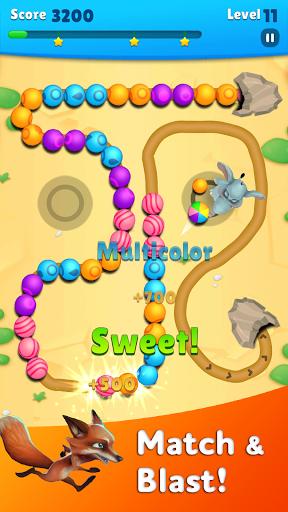 Marble Wild Friends - Shoot & Blast Marbles apkmr screenshots 12
