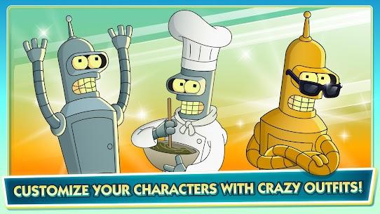 Futurama: Worlds of Tomorrow MOD APK (Free Store) 3