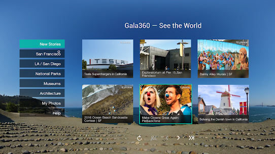Gala360 – See the world in VR! 1