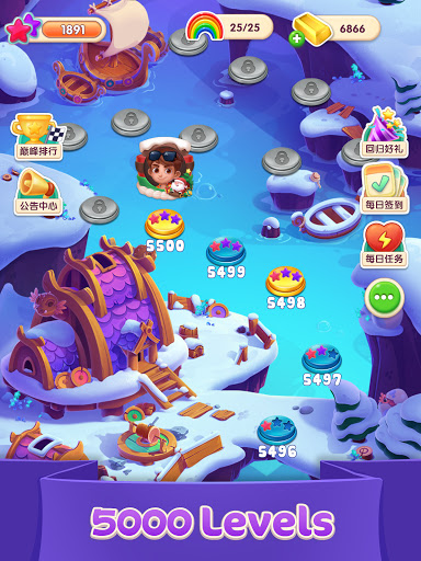 Jellipop Match-Decorate your dream islanduff01 7.9.2 screenshots 19