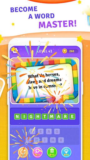 BrainBoom: Word Brain Games, Brain Test Word Games apkpoly screenshots 11